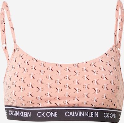 Sutien Calvin Klein Underwear pe nud / negru / alb, Vizualizare produs