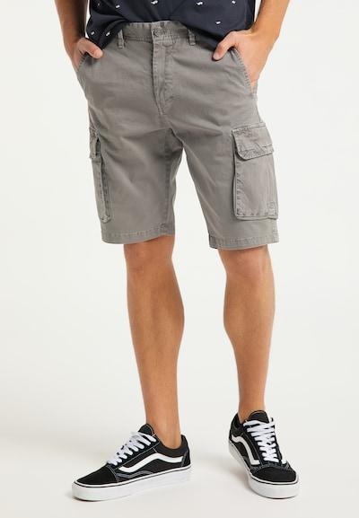 Pantaloni cu buzunare MO pe gri, Vizualizare model