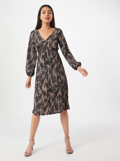 Dorothy Perkins Šaty - starorůžová / černá, Model/ka