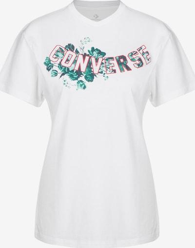 CONVERSE T-Shirt in mischfarben / weiß, Produktansicht
