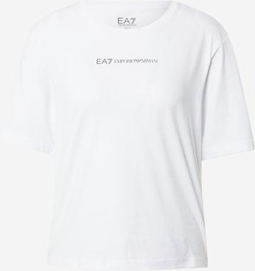 balts EA7 Emporio Armani T-Krekls