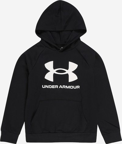 UNDER ARMOUR Sport-Sweatshirt 'Rival' in schwarz, Produktansicht