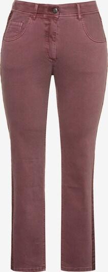 Ulla Popken Damen große Größen Jeans 719813 in rot, Produktansicht