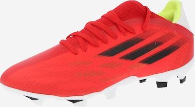 ADIDAS PERFORMANCE Chaussure de foot 'X Speedflow.3' en rouge / noir, Vue avec produit