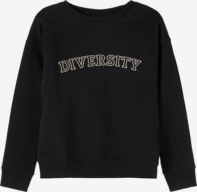 NAME IT Sweatshirt 'Billie' in schwarz, Produktansicht