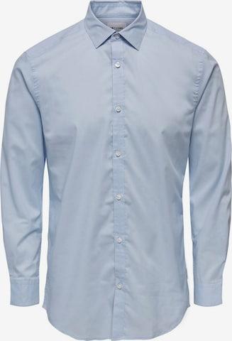 Only & Sons Hemd 'Sane' in Blau