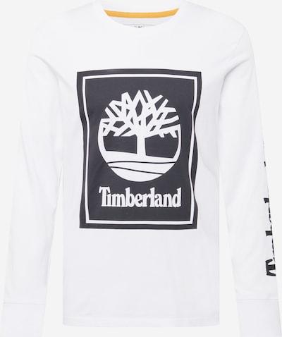 TIMBERLAND Μπλουζάκι σε μαύρο / λευκό, Άποψη προϊόντος