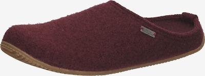 Living Kitzbühel Hausschuh in rot / dunkelrot, Produktansicht