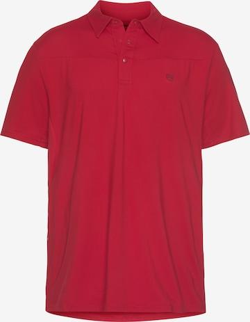 All Terrain Gear by Wrangler Poloshirt in Rot