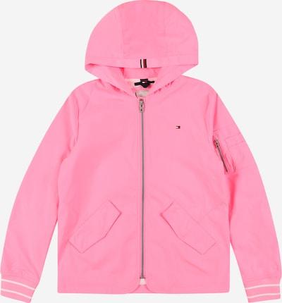 TOMMY HILFIGER Veste mi-saison 'FLURO' en rose clair / blanc, Vue avec produit