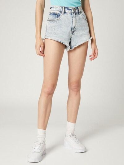 Jeans 'Beren' VIERVIER pe albastru denim, Vizualizare model