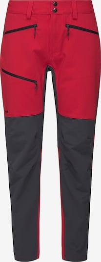 Haglöfs Pantalon outdoor 'Rugged Flex' en anthracite / rouge cerise, Vue avec produit
