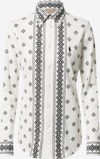 Polo Ralph Lauren Bluzka 'HEIDI' w kolorze szary / czarny / naturalna bielm, Podgląd produktu