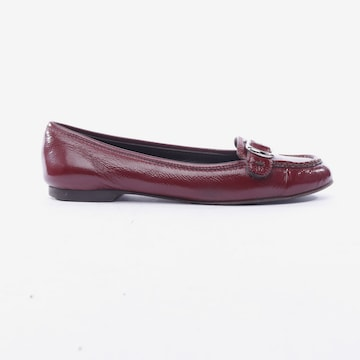 AIGNER Flats & Loafers in 37 in Red