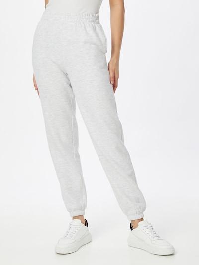 NEW LOOK Pantalon en gris clair / noir, Vue avec modèle
