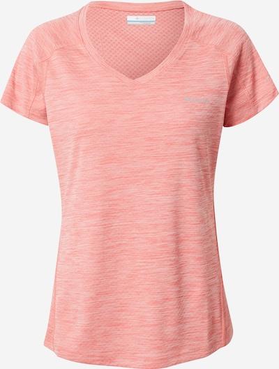 COLUMBIA T-Shirt in grau / lachs, Produktansicht
