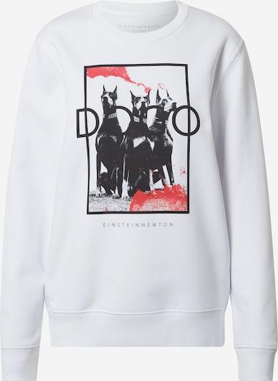 EINSTEIN & NEWTON Sweat-shirt 'Klara' en rouge / noir / blanc, Vue avec produit