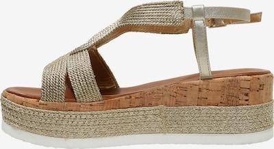 INUOVO Sandalen in beige, Produktansicht
