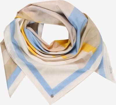 ESPRIT Tørklæde i beige / lyseblå / gul / offwhite, Produktvisning