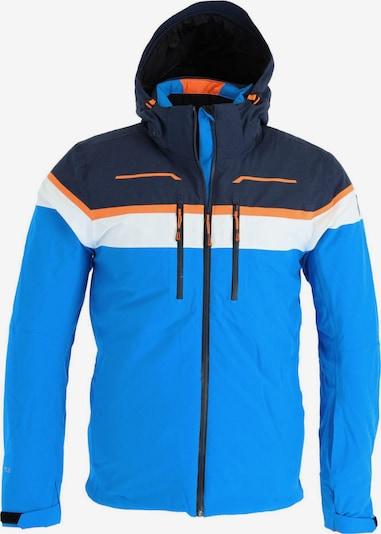 ICEPEAK Skijacke in navy / himmelblau / orange / weiß, Produktansicht