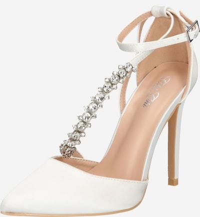 Chi Chi London Pumps 'Cher Heels' in de kleur Wit, Productweergave