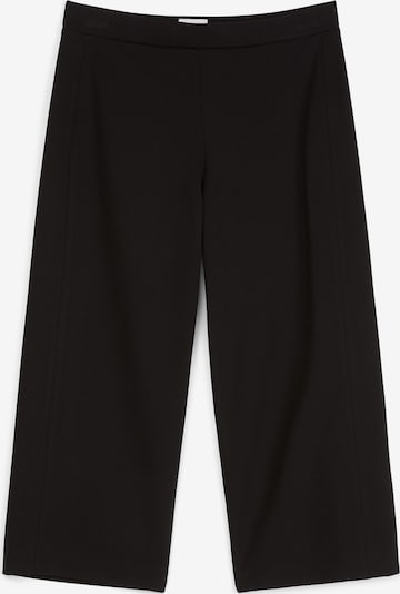 Marc O'Polo Pure Culotte in schwarz: Frontalansicht