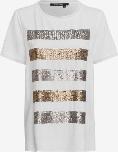 MARC AUREL T-Shirt in gold / silber / offwhite, Produktansicht
