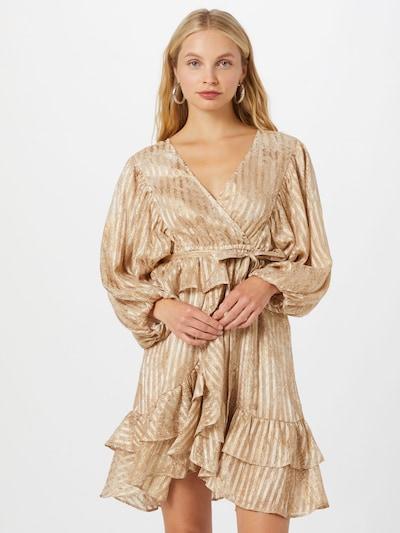 River Island Šaty 'JESSIE' - zlatá, Model/ka