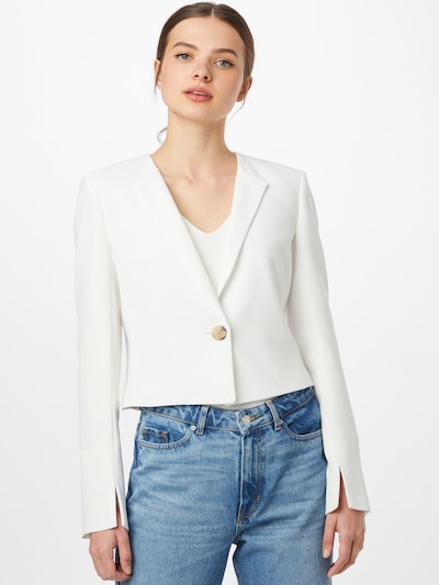 Sacou 'Ajosa' HUGO pe alb, Vizualizare model