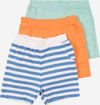 NAME IT Shorts 'JARKE' in blau / mint / melone / weiß, Produktansicht