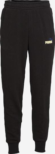 PUMA Pantalón deportivo en amarillo pastel / negro, Vista del producto