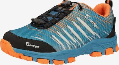 Kastinger Wanderschuh in hellblau / orange / schwarz, Produktansicht