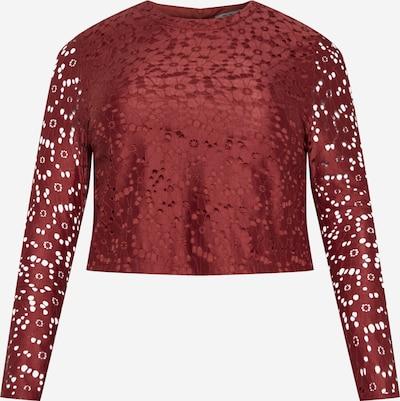 Tricou 'Flora' ABOUT YOU Curvy pe roșu ruginiu, Vizualizare produs