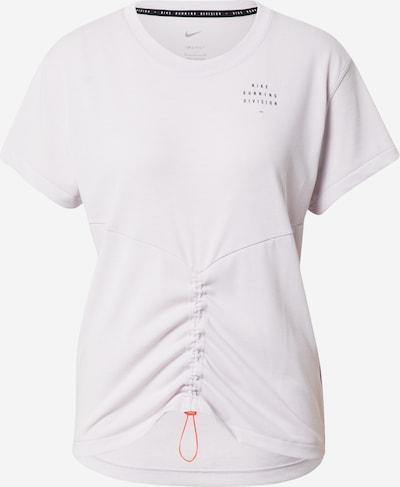 NIKE Funkcionalna majica 'Run Division' | svetlo siva / črna barva, Prikaz izdelka