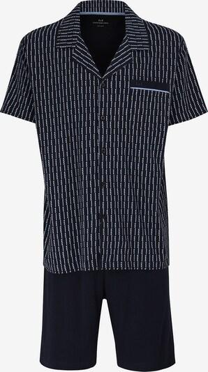 Götzburg Pyjama in dunkelblau, Produktansicht