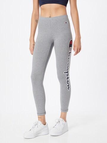 Leggings di Champion Authentic Athletic Apparel in grigio