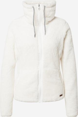PROTEST Bluza polarowa funkcyjna 'RIRI' w kolorze biały