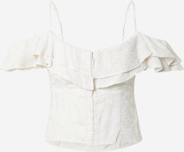GUESS - Top 'MATTIE' en beige