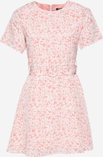 Fashion Union Zomerjurk 'AMBER' in de kleur Rosa / Wit, Productweergave