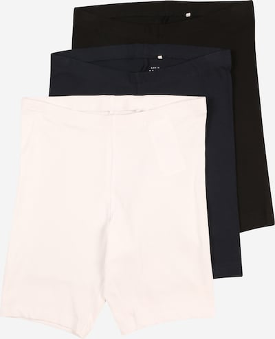 NAME IT Leggings 'VIVIAN' en bleu marine / noir / blanc, Vue avec produit