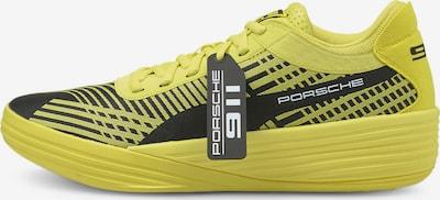 PUMA Sportschuh 'Clyde ' in gelb / schwarz, Produktansicht