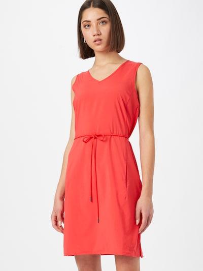 JACK WOLFSKIN Kleid 'Tioga Road' in rot, Modelansicht