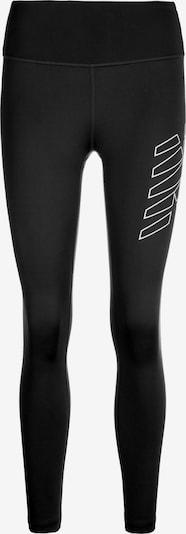 new balance Trainingstight 'Achiever' in schwarz / weiß, Produktansicht