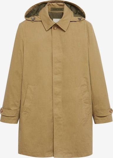 MANGO MAN Functionele jas in de kleur Lichtbruin, Productweergave