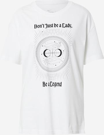Tricou funcțional 'Legend' de la NIKE pe alb