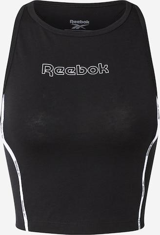 Reebok Sport Спортен топ в черно