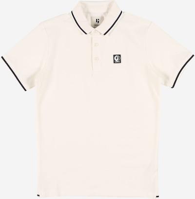 GARCIA Poloshirt in schwarz / wollweiß, Produktansicht