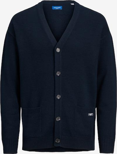 JACK & JONES Vestes en maille 'James' en bleu foncé, Vue avec produit