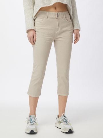TOM TAILOR Jeans 'Kate' in Beige
