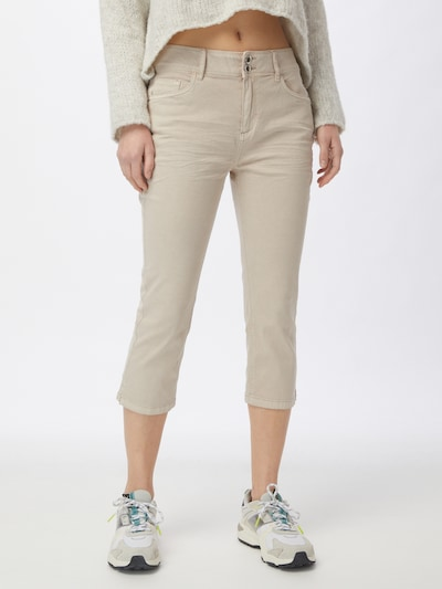 TOM TAILOR Jeans in beige, Modelansicht